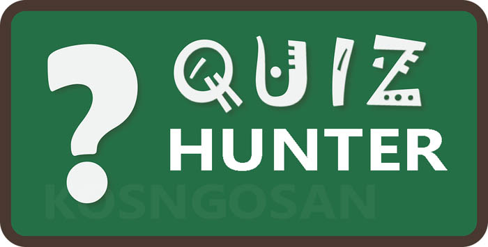profesi kuis hunter