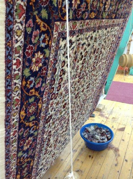 Sue Dennis: Turkish carpets