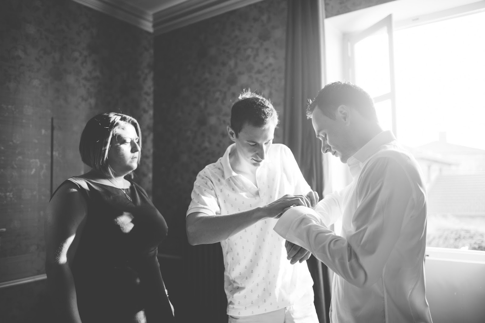 Photographe mariage Lyon Roanne Château Des vergers beaujolais