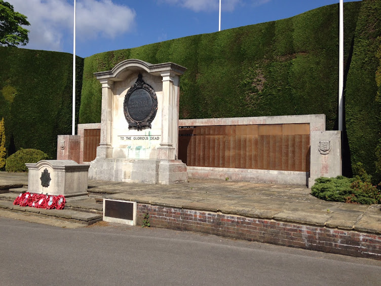 RAOC War Memorial at Deepcut