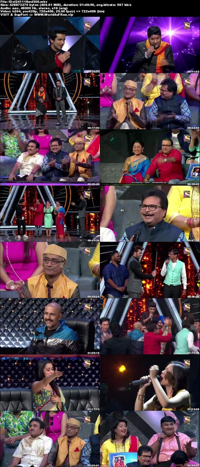 Indian Idol Season 10 24 November 2018 WEBRip 480p 300Mb world4ufree.fun tv show Indian Idol Season 10 hindi tv show Indian Idol Season 10 Sony Set tv show compressed small size free download or watch online at world4ufree.fun