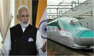 India's 200 miles per hour bullet train starts