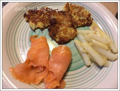 Spargel mit Senf/Zitronendressing