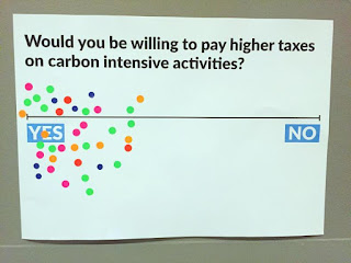 Carbon tax survey