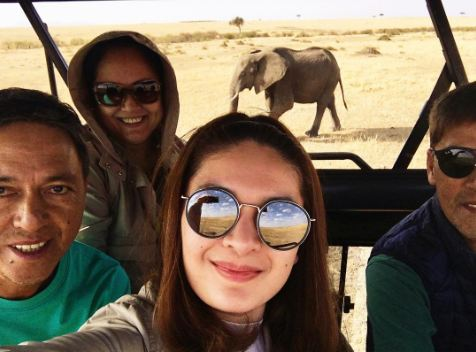 Vic Sotto and Pauleen Luna Go on a Safari Adventure in Africa! This Is a Must See!