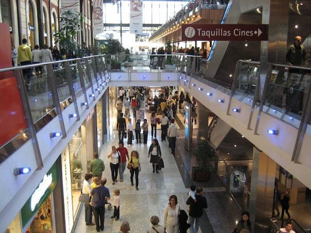 Lojas do Shopping Príncipe Pio