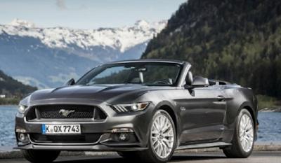 Mobil sports dengan konsumsi bahan bakar paling irit Ford Mustang
