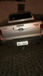 Polícia recupera Hilux roubada transitando no município de Picuí