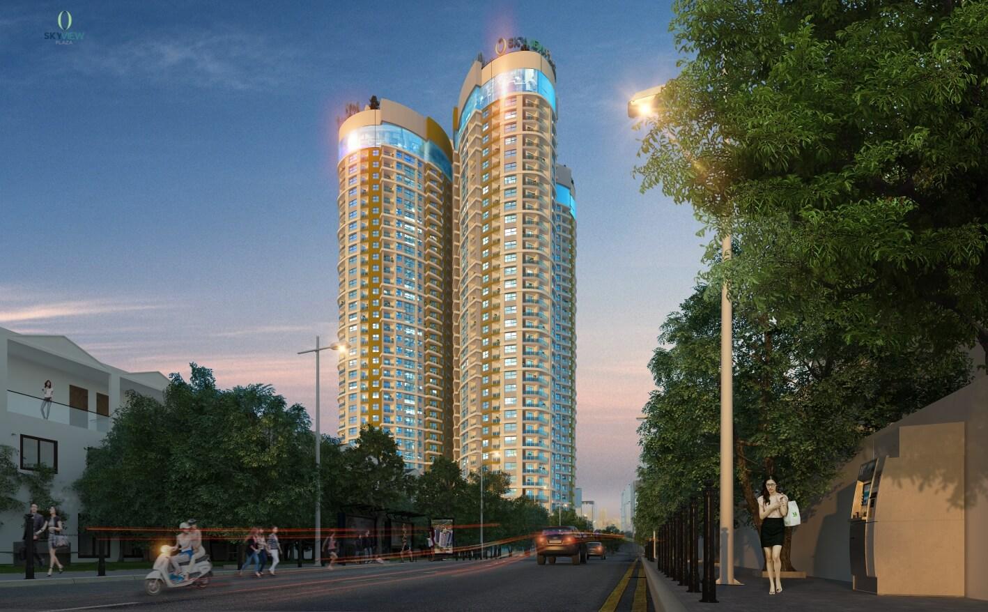 Sky View Plaza nơi an cư lý tưởng khu phía Nam Hà Nội