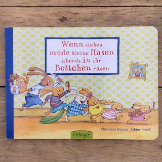 Kinderbuch Wenn sieben müden Hasen