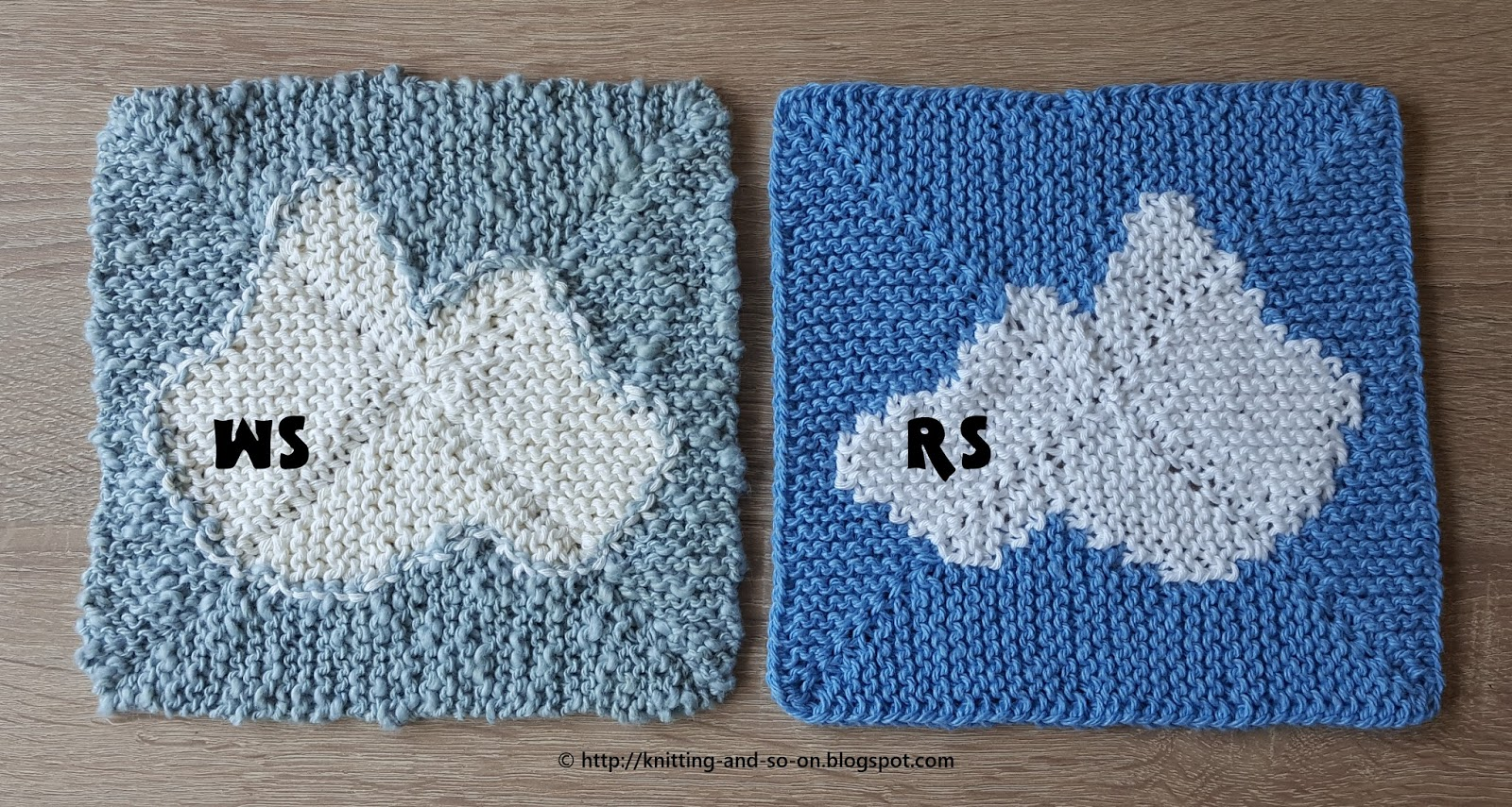 Knitting and so on: Wolkchen Washcloth