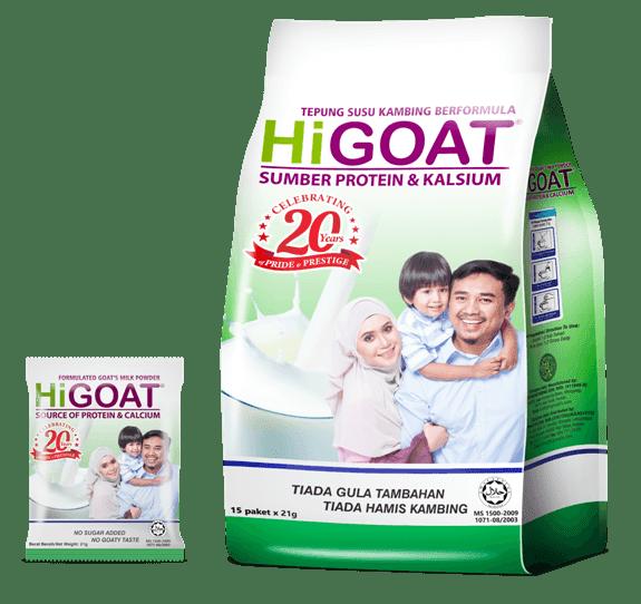 susu kambing higoat baik untuk ibu mengandung