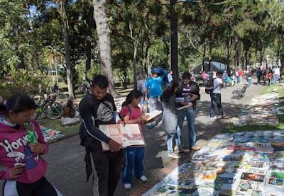 Feria del libro callejera Bogotá