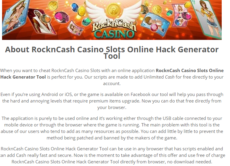 online casino slot hack