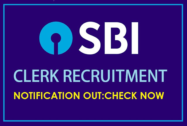 SBI Clerk 2018 Recruitment Notification Out : Check  Here Now