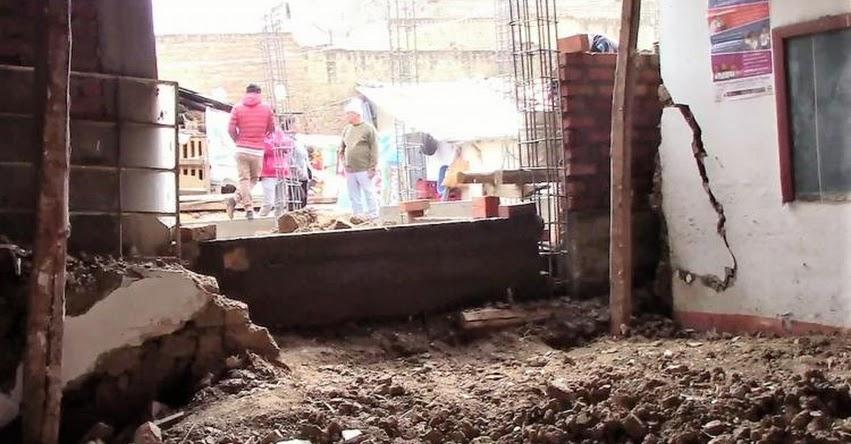 PRONIED demolerá zona afectada por el colapso de pared de colegio en Junín - www.pronied.gob.pe