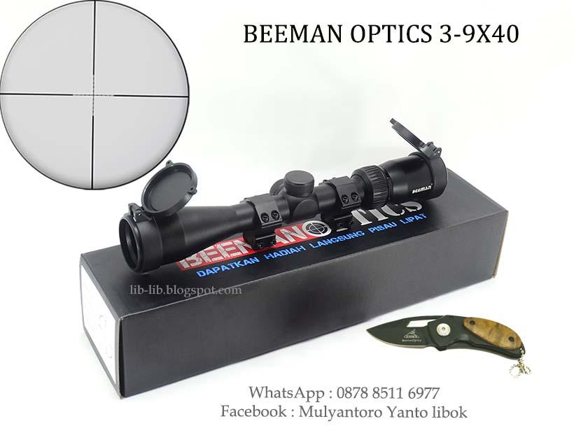 Lib lib asesories senapan dan perlengkapan outdoor scope beeman