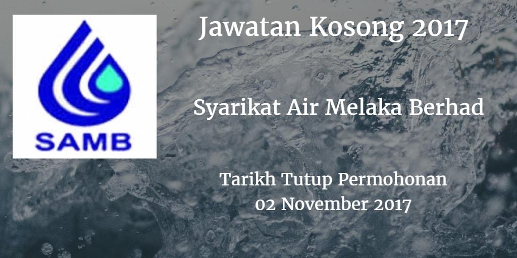 Jawatan Kosong SAMB 02 November 2017