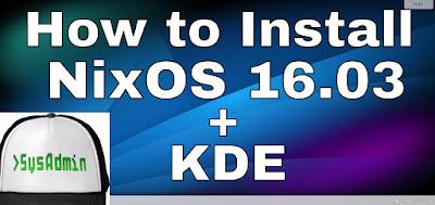 NixOS 16.03 Linux