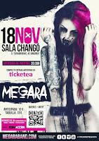 Concierto de Megara en Changó Live