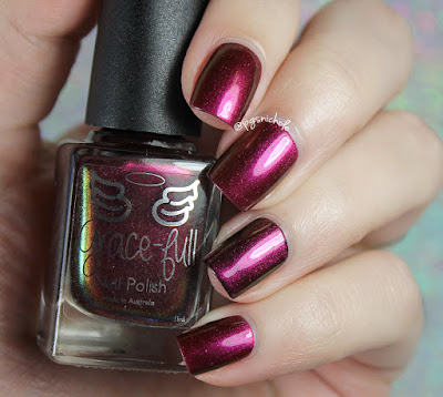 Grace-Full Nail Polish I Am Fire | Going On an Adventure Trio