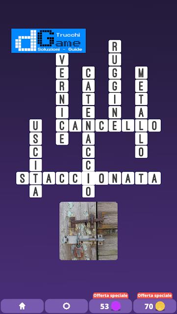 Soluzioni One Clue Crossword livello 14 schemi 3 (Cruciverba illustrato)  | Parole e foto
