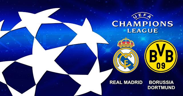 Prediksi Pertandingan Real Madrid vs Borussia Dortmund 7 Desember 2017
