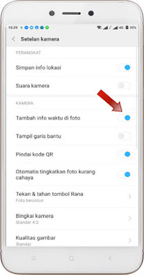 Menampilkan Info Tanggal dan waktu di Kamera Hp Xiaomi Cara Menampilkan Info Tanggal di Kamera Hp Xiaomi