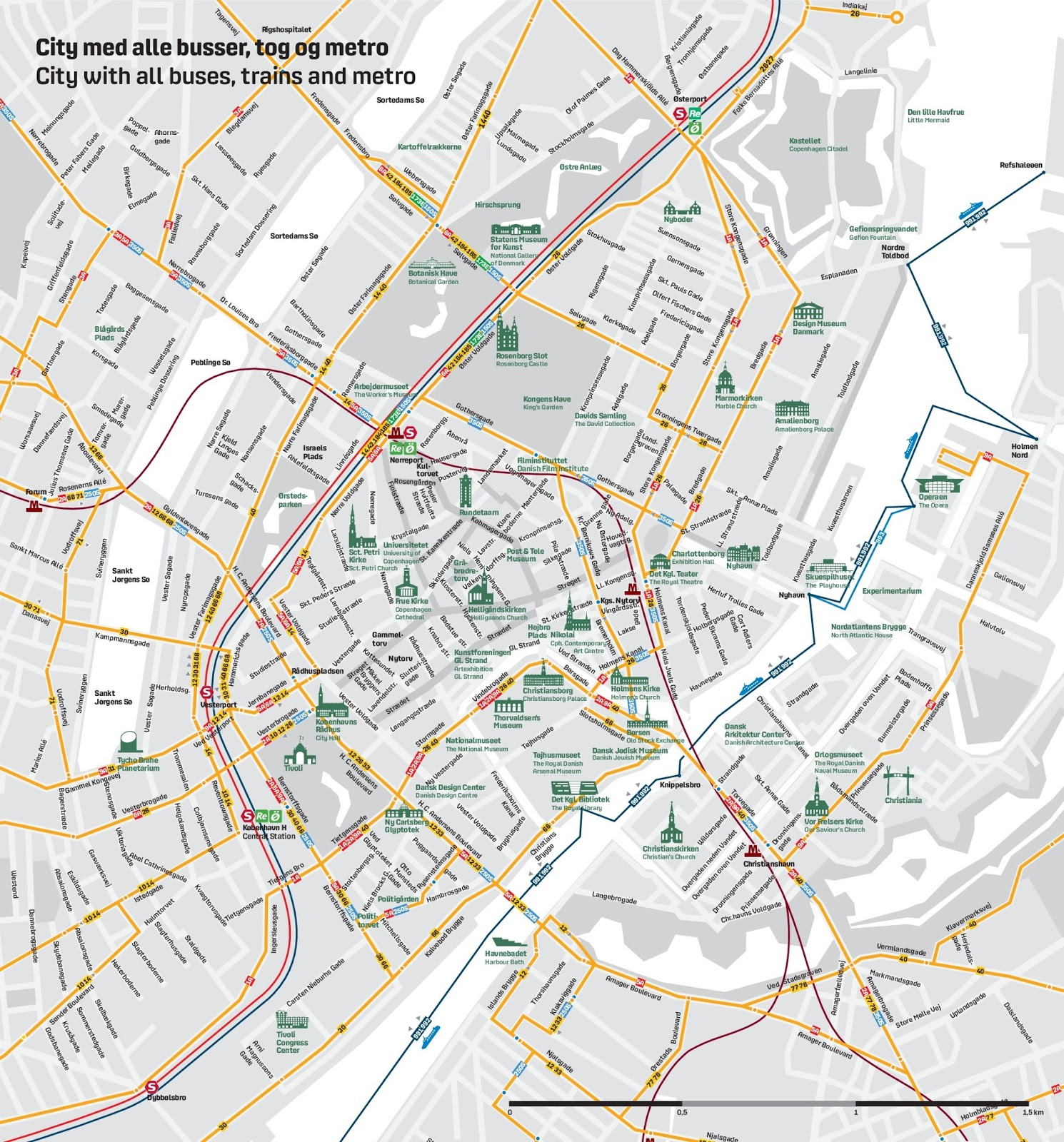 this map with all bus metro train routes along with attractions was a huge help in our planning