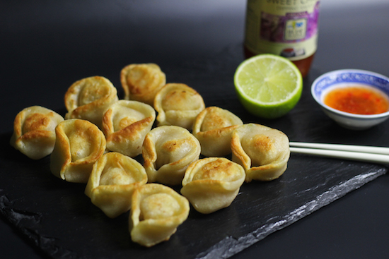 Salmon prawn wonton recipe