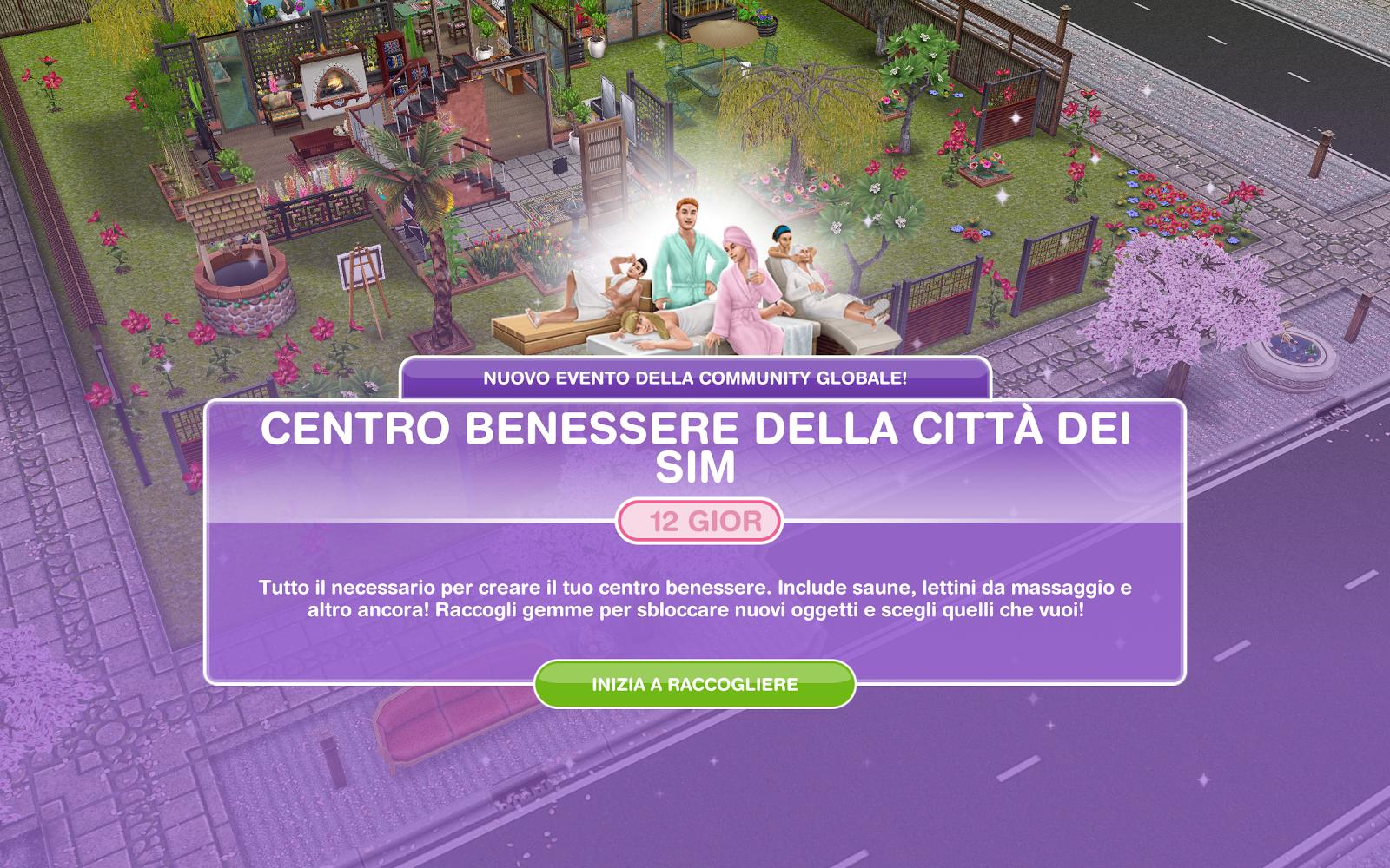 Vasca Da Bagno The Sims Mobile : The sims freeplay it: centro benessere della città dei sim