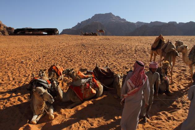A Wadi Rum Bedouin Camp