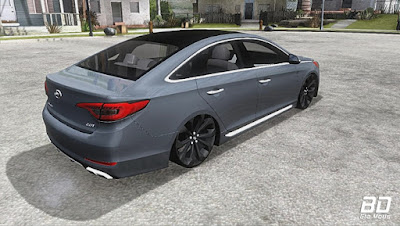 Download , Mod , Carro , Hyundai Sonata Pc leve com som para GTA San Andreas, GTA SA , Jogo PC