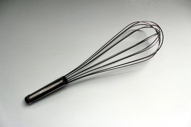 thrift stainless steel whisk