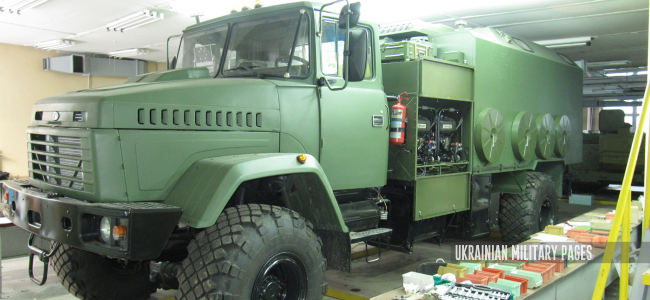 КШМ на базі КрАЗ-5233НЕ