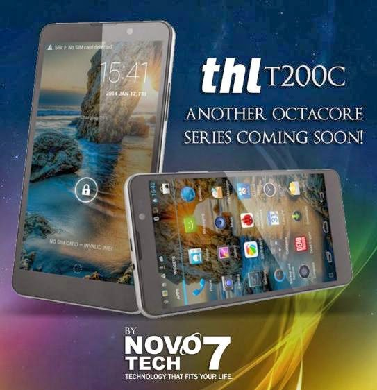 THL T200C, Another Octacore Phablet