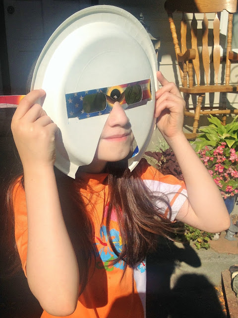 Worry-Less Eclipse Glasses for Kids Using a Paper Plate