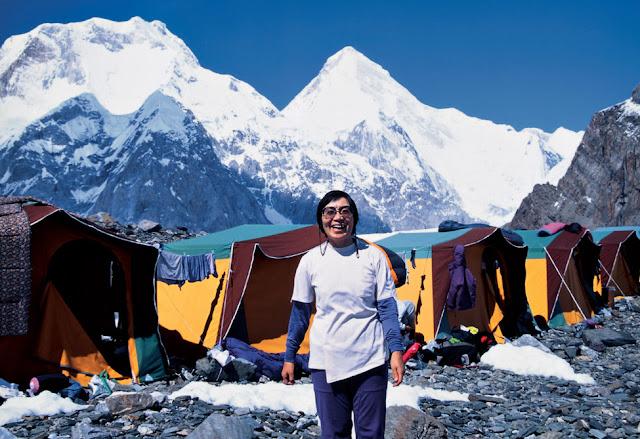 Junko Tabei on Mount Everest