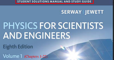 Physics for scientists and engineers 9th edition serway ...