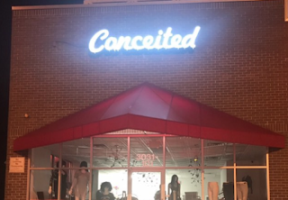 Conceited clothing store