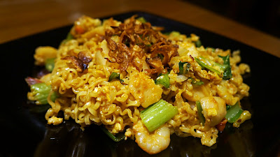 Hot Spicy Fried Noodle ala Gracia Food Garden