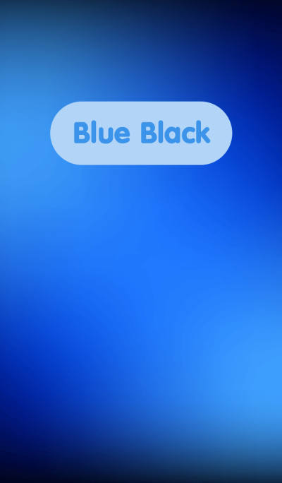 Simple Blue in Black theme v.3