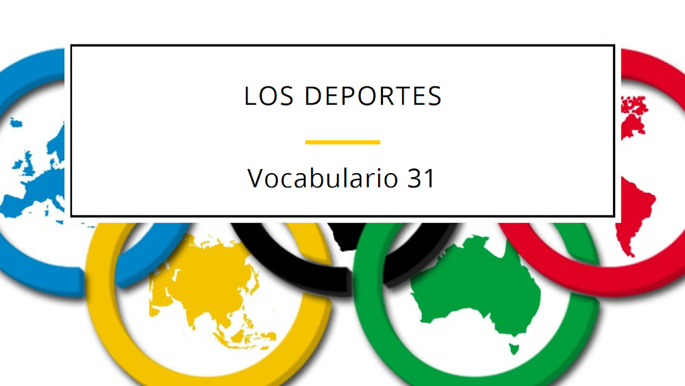 LOS DEPORTES - VOCABULARIO NIVEL A2