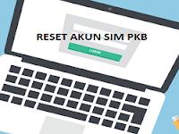 Reset akun SIM PKB melalui akun Ketua Komunitas