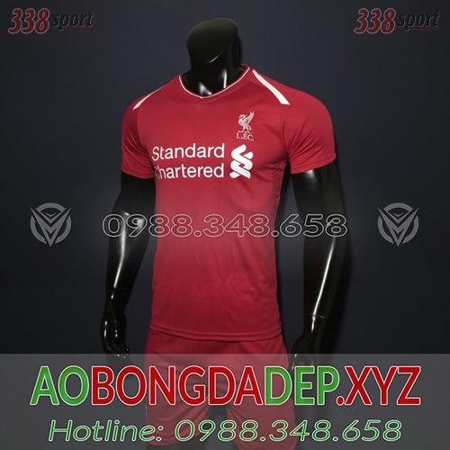 Áo Liverpool Training 1 Màu Đỏ Đẹp