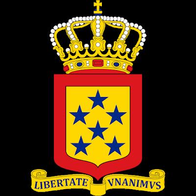 Coat of arms - Flags - Emblem - Logo Gambar Lambang, Simbol, Bendera Negara Antillen Belanda