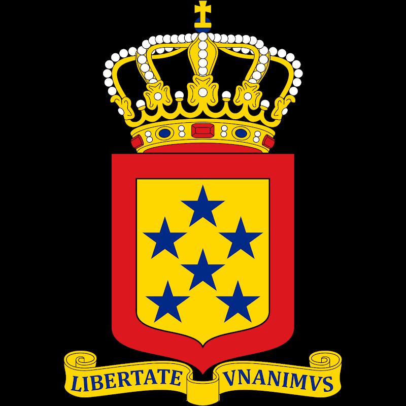 Logo Gambar Lambang Simbol Negara Antillen Belanda PNG JPG ukuran 800 px