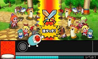 taiko time taiko no tatsujin 3ds3 story mode data battle members