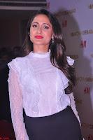 Pragya Jaiswal in lovely Black Mini Skirt and White Transparent Shirt ~  Exclusive 020.JPG