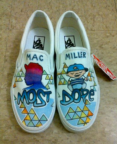 Mac Miller Shoes In Best Day Ever